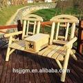 antiguos de hierro forjado de muebles al aire libre