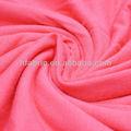 Vestuário de moda, vestido 32s tingidos malha jersey viscose elastano tecido