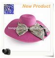 2014 de moda de paja de verano playa baratos sombreros para las mujeres