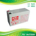 12v 7ah de copia de seguridad de la batería de ups pilas y baterías