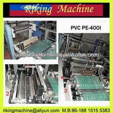 PVC PE arco Sellado Bolsa que hace la máquina (Líneas simples)