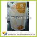 Oem ponerse de pie bolsa/bolsa para el jugo de limón envasadodealimentos personalizados proveedor