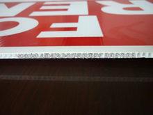 2-7milímetro durable reciclado pp chapa ondulada