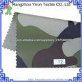 900D poliéster GU CHI tejido estampado de camuflaje tiendas de campaña militares uso JULIO recubiertos y mochilas