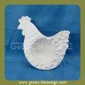 simples de cerâmica titular ovo de galinha