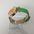 de lujo 2014 los hombres de moda colorido jalea reloj suizo jr0064
