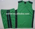 mejor 2014 camiseta de baloncesto de diseño de tela de malla para los hombres