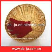 cesta de bambú redonda