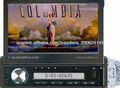 1DIN 7inch reproductor de DVD con SD / USB / FM / Blutooth / GPS