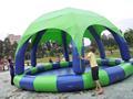 piscine gonflable de couverture