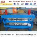 Fx-840/900 cor rolo de aço dá forma à máquina