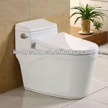 High temperature Ceramic Sanitary Wares Bathroom one piece toilet
