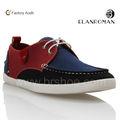 Moda clásica de los hombres zapatos de lona