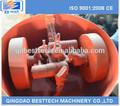 Hot fornecedores chineses de fundição rolo de barro areia muller, fundição de rolo tipo de misturador de areia