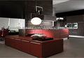 gabinete de cocina de la laca