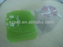 caja plástica del regalo, caja de empaquetado clara, caja de empaquetado clara, caja plástica del claro, caja clara del acetato