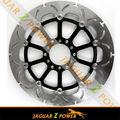Flotante de gran tamaño 2 320mm pieza delantera de la motocicleta de freno de disco del rotor para honda, yamaha, kawasaki,