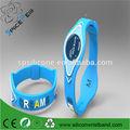 3d logotipo personalizado de silicone pulso banda pulseira de energia para a nigéria igreja céu banco e banco do eco