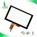 El panel de tacto 7 pulgadas 0.7mm con cubierta de vidrio