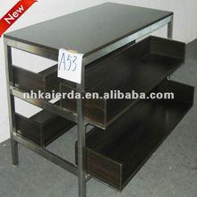 durable de acero inoxidable bastidor de tela de guangzhou con precio de fábrica