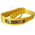 EB5002 Eslingas de cintas planas, eslinga de elevación, correas