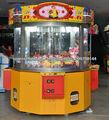 4 máquina de juego del jugador grúa garra que funciona con monedas