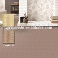 Langshi, faixa padrão de tapete de lã de poliéster mistura, design simples sala tapete