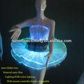 iluminación LED danza traje de la etapa ballet rendimiento ropa luminosa ilumulated para las mujeres