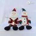 Venta al por mayor de la decoración de navidad 2013/muñeco de nieve de la familia y santa