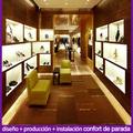 Lujo modernos accesorios de la tienda de zapatos de moda al por menor