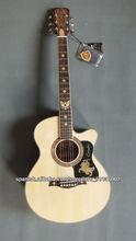 40 pulgadas guitarra acústica eléctrica equipada con 5 bandas de ecualizador para mayoristas