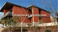Casa de Lujo Villa sistema de fachada de terracota panel de pared de cortina Revestimiento, rejilla, baldosas pegar