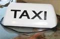 La lumière taxi toit, la lumière taxi top, a mené la lumière de taxi, accessoires de taxi