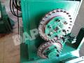 Máquina para fabricar fibras de acero