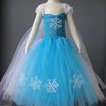 nuevos diseños de encaje popular congelados hechos a mano ropa para los niños