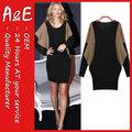 ae 2014 moda novo design vestido de damas