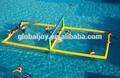 Inflable del agua cancha de voleibol/campo de voleibol inflables