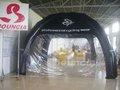 al aire libre tienda de campaña inflable