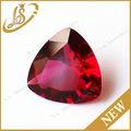 de grasa sintética triángulo rojo diamante de corte de vidrio gemas
