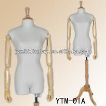 adaptación de modista ajustable flexible maniquí de costura