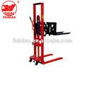 Manual Forklift Mano apilador hidráulico