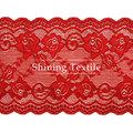 16-20 cm de nylon con spandex elástico telas de encaje para lencería