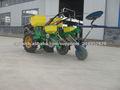 Solo grano precisa fertilización sembradora de maíz mano