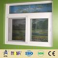 2014 AFOL- horizontal pvc ventana deslizante guarnicionesmateria prima del pvc para ventanas