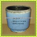azul crujía acabado de cerámica antigua