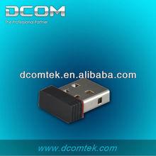 Inalámbrico usb tarjeta de red ralink rt5370 802.11n 150 mbps adaptador usb wifi