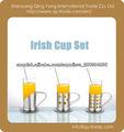 Nuevo tipo Ireland vidrio taza de té
