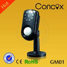 GSM alarma con detector de movimiento GM01/empresas de camaras de Seguridad con MMS y mensajes de llamada automática