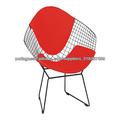 Cadeira de fio de metal