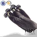 2014 cabello nuevo recto brasileño Virgen Remy extensiones de cabello humano